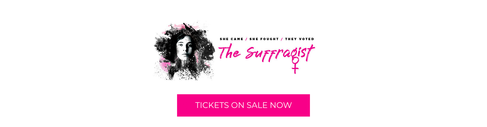 The Suffragist, tickets on sale now